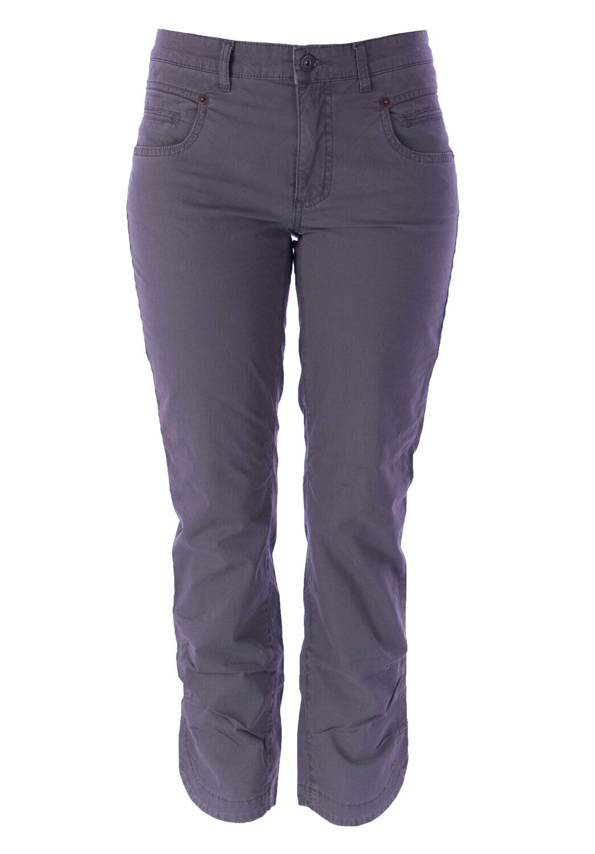 Gant Women's Slate Grey Pipe Cropped Pants 427219 NEW