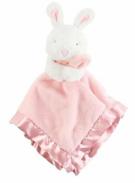 Baby Blanket For Girl Carter's Pink Bunny Rabbit Blanket NWT
