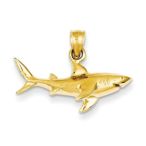 14K Requin Pendentif