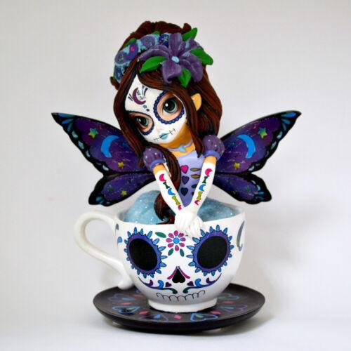 Jasmine Becket-Griffith JBG SOOTHING ASTRID Teacup Fairy Figurine NEW