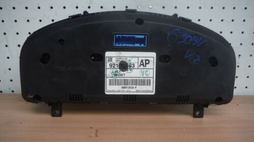 HOLDEN COMMODORE VZ CLUSTER AP