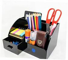 Acrylic Office Desk Organizer With Drawer All In 1 Office Supplies And Cool