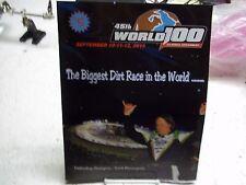 NEW 2015 WORLD 100 PROGRAM ELDORA SPEEDWAY EARL BALTES SCOTT BLOOMQUIST 48 PAGES