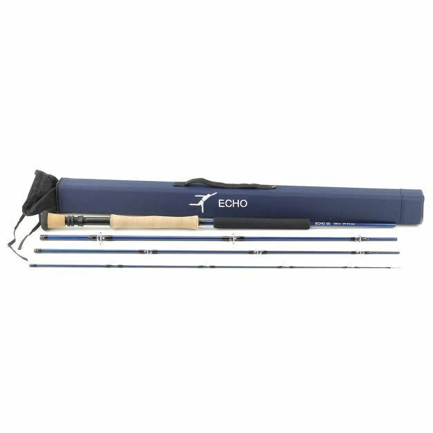 Echo 3 Saltwater Fly Rod with Tube - 12WT