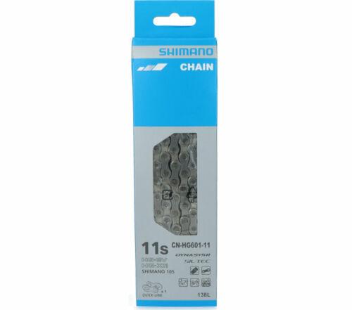 Shimano CN-HG601 Kette 11-fach 138 Glieder mit Quick-Link Kettenschloss