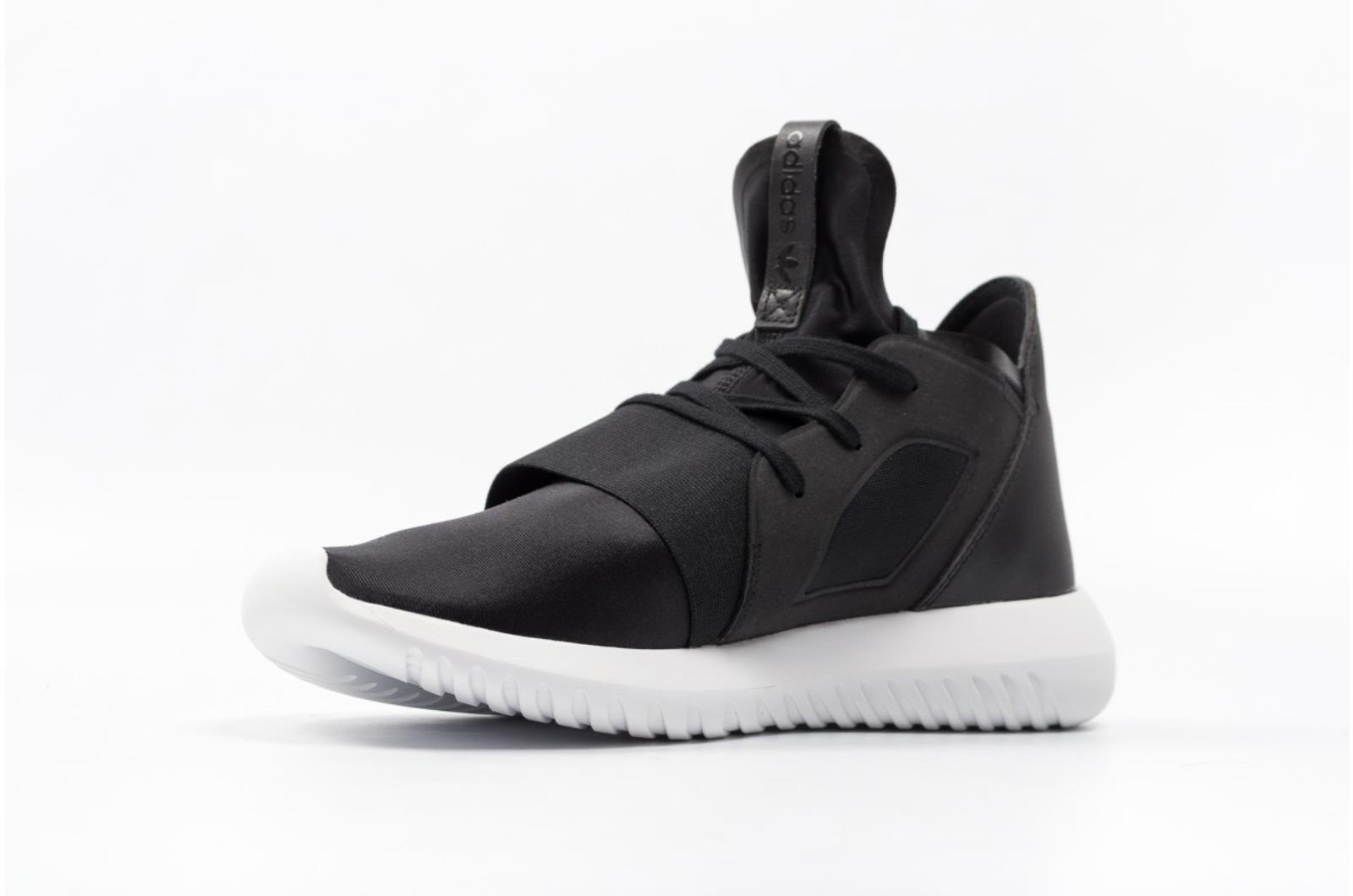 Adidas Originals Tubular Defiant Women's Black/Black/White S75249  Comfortable