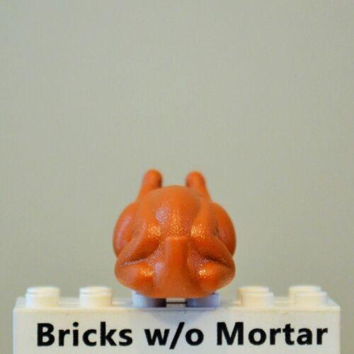 New Genuine LEGO Dark Orange Turkey Minifig Food Dessert Kitchen 10193 10243