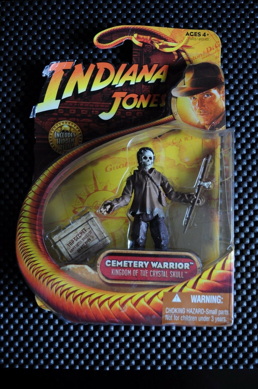 INDIANA JONES KINGDOM OF THE CRYSTAL SKULL INDIANA JONES - CEMETERY WARRIOR