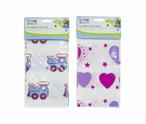 First Steps No Mess Floor Mat Easy Clean /& Stain Free