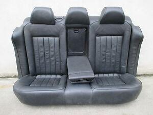 w8 r cksitzbank vw passat 3bg limousine r ckbank leder. Black Bedroom Furniture Sets. Home Design Ideas
