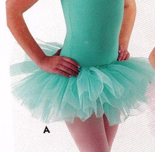 NWOT Organdy 3 Layer Tutu Ballet Girls//ladies 5 shades of Green to choose Ballet