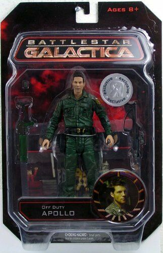 battlestar Galactica Diamond Select Toys Exclusive Action Figure Off Duty Apollo