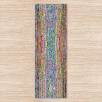 Chakra Mandala Om Yoga Mat High Quality Uk Designer Brand Non Slip Rubber Base Ebay