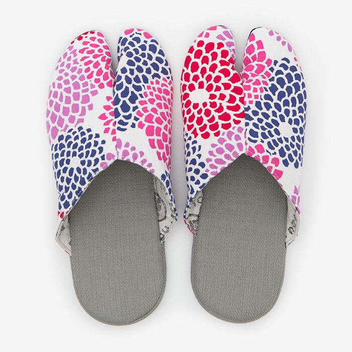 Tabi Slippers Ninjya SOU SOU KYOTO Room Schuhes Kiku Japanese Traditional New