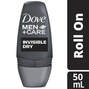 Dove Antiperspirant Invisible Dry Roll On Deodorant For Men 50mL