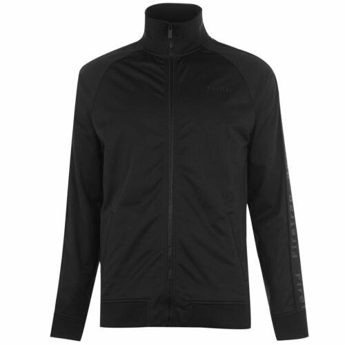 Firetrap Mens Track Jacket Tracksuit Top Coat Zip Full Warm