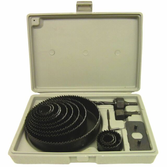 Circle Arbor: 16pc Circle Hole Saw Round Cutter Drill Kit With Arbor And
