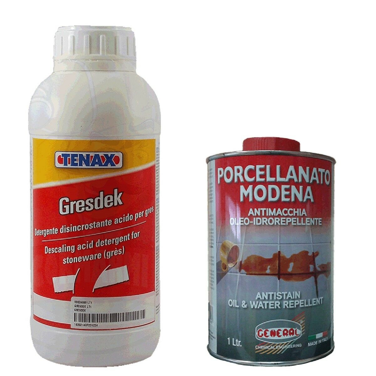 Pulizia e manutenzione ceramica, gres, gres porcellanato prodotti professionali