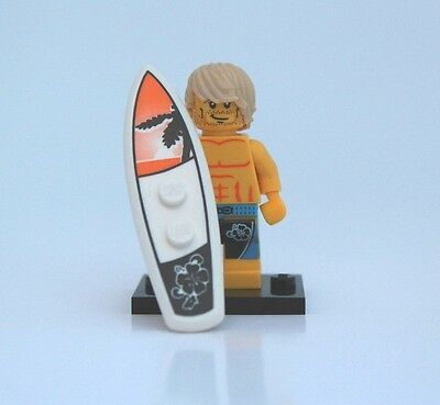 NEW LEGO MINIFIGURES SERIES 2 8684 - Surfer Dude/Guy