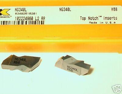 NG340L K68 KENNAMETAL INSERTS