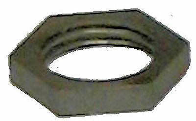MILLED STEEL HEX NUTS-LARGE HOLE 1//4 IPS     TV-18