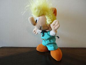 PEYO-1983-PEEWEE-Peewit-Pirlouit-DOLL-Friend-of-Smurfs-RARE-Shredded-Clippings