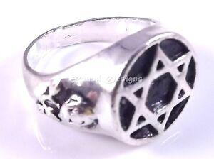 Star-Of-David-Magen-Judaica-Silver-Ring-Kabbalah-Gift-Jewish-Israel