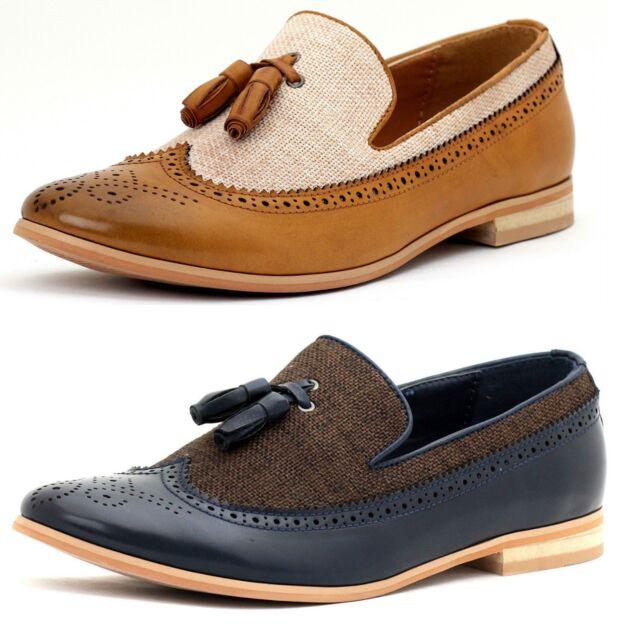 designer tassel loafers