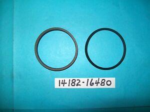 73-77 Suzuki TS400 exhaust pipe gasket (2ea)    #14182-16480  (NOS)