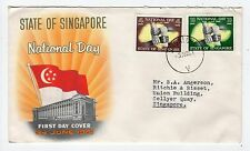 SINGAPORE: 1961 National Day First Day cover (C25313)