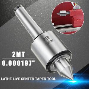 MT2 Precision Live Center Centre Morse Taper Bearing Lathe Turning Revolving New