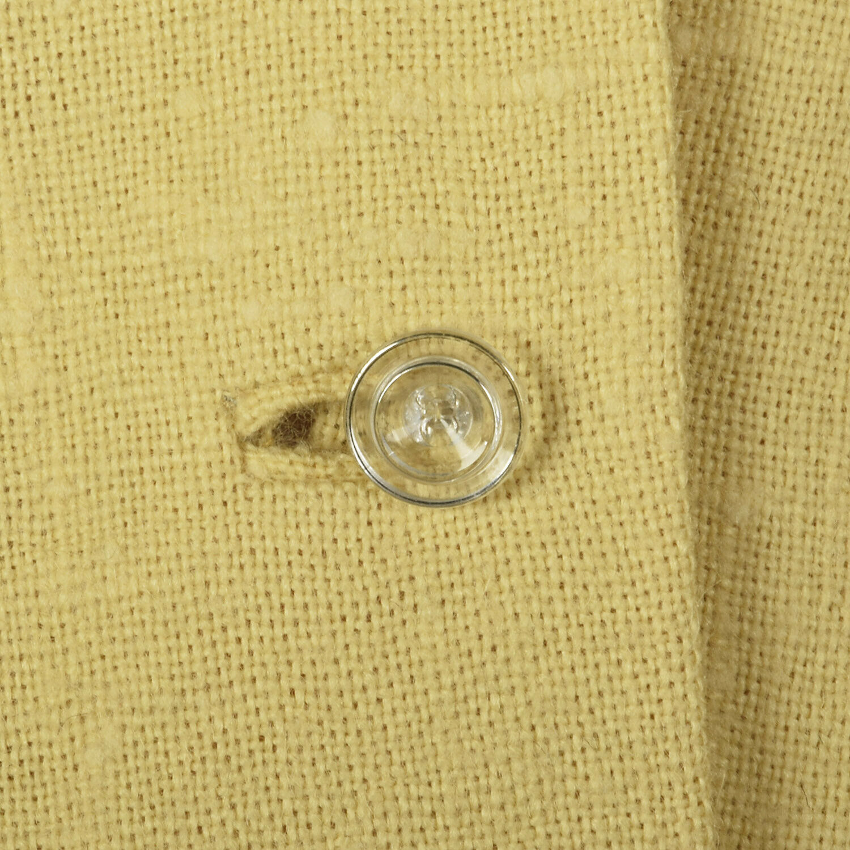 Small 1950s Princess Coat Yellow Wool Spring Rock… - image 8