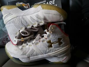 f96b392c3d9 Under Armour Curry 2 All Star Basketball Shoes White Mens Size 9