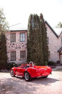 1965 SHELBY COBRA CONVERTIBLE factory five AUTO 302 V8