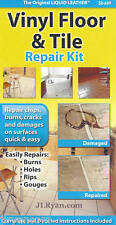 Liquid Leather Vinyl Floor and Tile Repair Kit