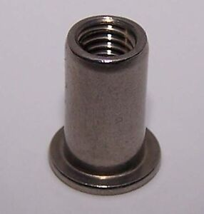 6x8  Blindniete Alu//Stahl Flachkopf POPNIETE KB 2,0-4,0mm Menge nach Wahl