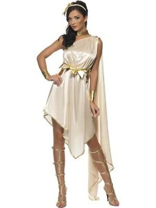 Adult sexy roman toga greek athena goddess ladies fancy dress image is loading adult sexy roman toga greek athena goddess ladies solutioingenieria Image collections