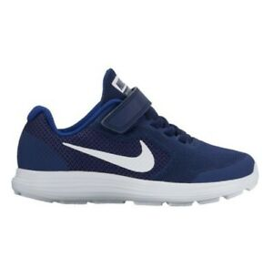 774250344d Nike Revolution 3 (PSV) Binary Blue White Boys Girls Trainer RRP £35 ...