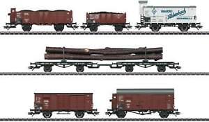 Marklin-46017-Freight-Car-Set-for-BR-95-DRG-Ep-II