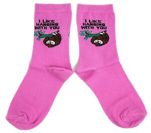 Mesdames Snoozy Sloth Sweet Dreams chaussettes UK 4-8 EUR 37-42 USA 6-10