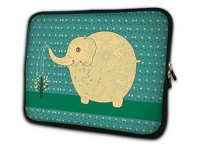 "Elephant 13"" Laptop Sleeve Bag Case For 13"" Macbook Pro Dell XPS 13 Samsung K08"