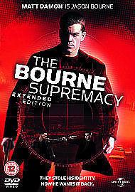 The Bourne Supremacy  DVD movie