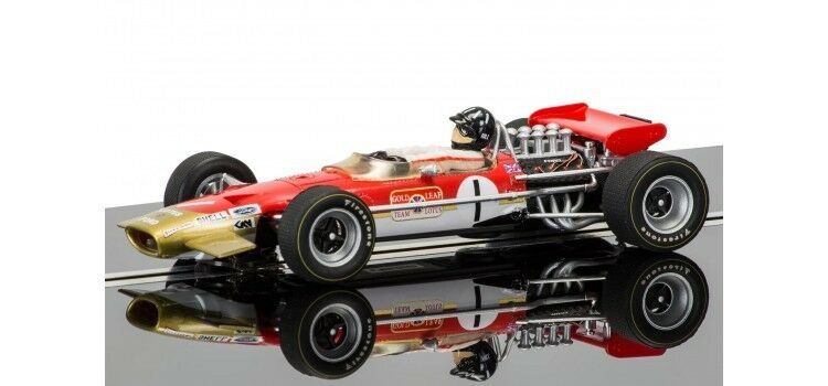 Scalextric - C3701A Team Lotus 49 - Graham Hill - gold Leaf - NEW