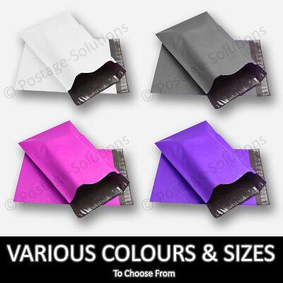 """Blue Colour Mailing bags Parcel Bags Polythene Plastic 17x22/"""" inch"""