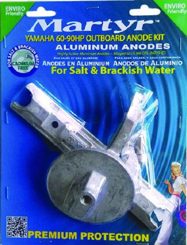 Barca Marino Yamaha 60-90 hp Fuoribordo Alluminio Anodo Kit Sale /& Salmastra