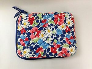Vera-Bradley-Summer-Cottage-Tablet-E-reader-Zippered-Padded-Sleeve-Case