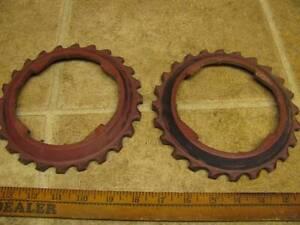 2 John Deere B2-16 Corn Planter Plates Lustran Plastic 494 694 24B 25b