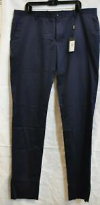 Nuevo Con Etiquetas 695 Giorgio Armani Black Label Ligera Para Hombre Pantalones De Lana Azul Marino 44 Ee Uu Ebay