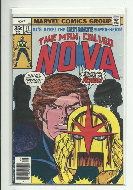 (1976) MARVEL NOVA #21 - RICHARD RIDER REVEALED AS NOVA - NM HIGH GRADE