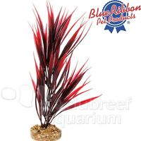 Red Sword Gravel Weighted Base Free-standing Colorburst Plastic Plant 10